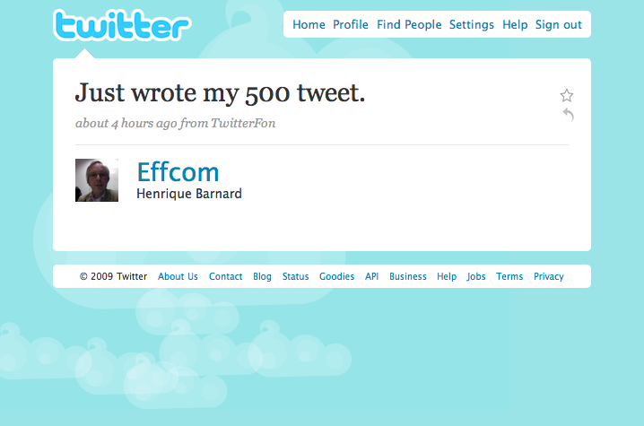 @Effcom Tweet #500 - Just captioned this image.
